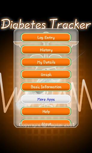 Diabetes Tracker v1.0