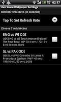 Screenshot of Live Wallpaper Cricket Score