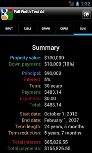 Karl's Mortgage Calculator- screenshot thumbnail