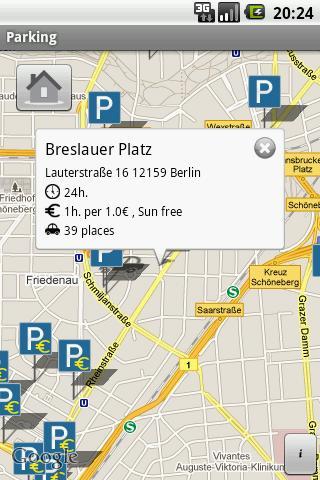 Berlin Parking- screenshot