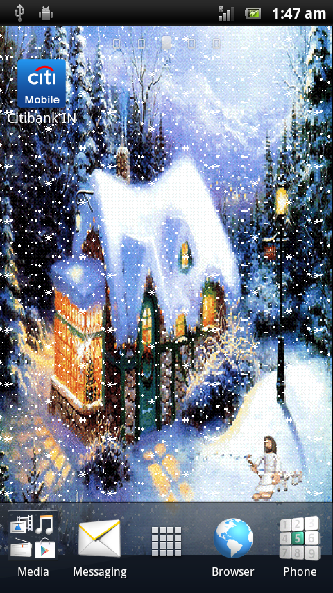 xmas3d animated live wallpaper android apps on google play