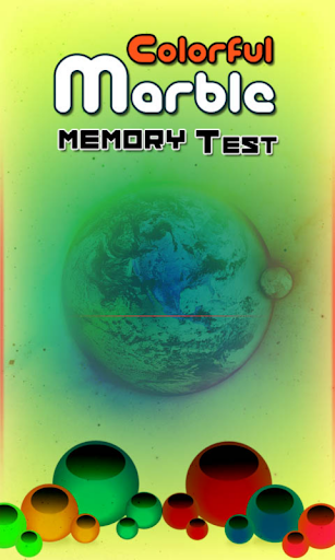 Marble Memory Test