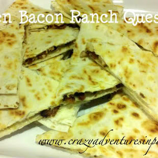 Chili's Chicken Bacon Ranch Quesadillas Recipe, Healthified