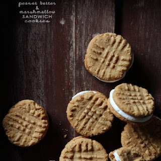 Peanut Butter & Marshmallow Sandwich Cookies