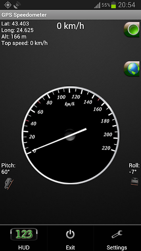 GPS測速儀和手電筒 - GPS Speed app