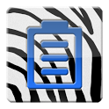 Zebra Battery Widget icon