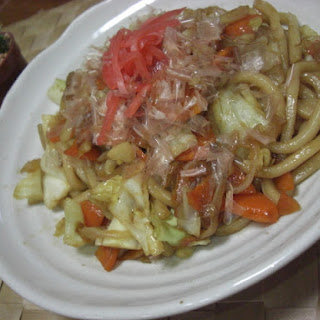 Yasai Yaki Udon (Vegetable Stir-fry Udon)