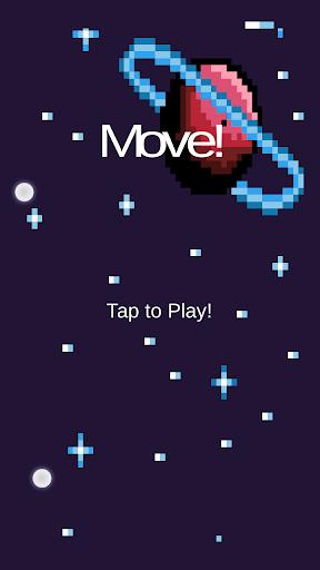 Move Asteroid Dodge