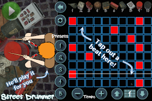Screenshot of Street Drummer - bucket beats