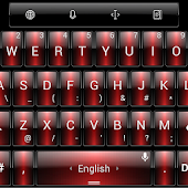 Theme TouchPal Dusk Red