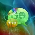 GO SMS Pro Theme Smoke Fire logo