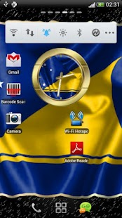 Tokelau flag clocks - screenshot thumbnail