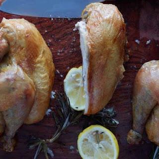 Jean-Georges Vongerichten's Crisp Savory Roast Chicken