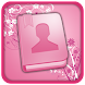 Pastel Pink Go Contacts Theme icon