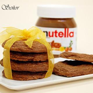 Delicious Nutella Cookies.