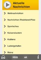 Screenshot of SWR1 Rheinland-Pfalz Radio