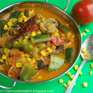 Summer Vegetable Curry.