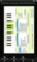 Screenshot of Piano Chords Generator