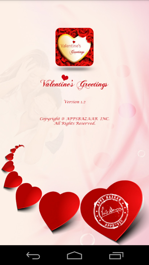 Valentine Greetings- screenshot