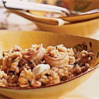 Mixed Seafood Risotto.