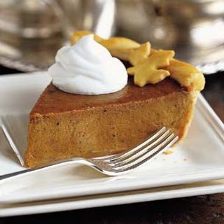 Pumpkin Pie with Orange Marmalade.