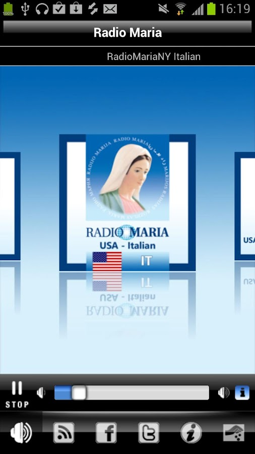 RADIO MARIA - screenshot
