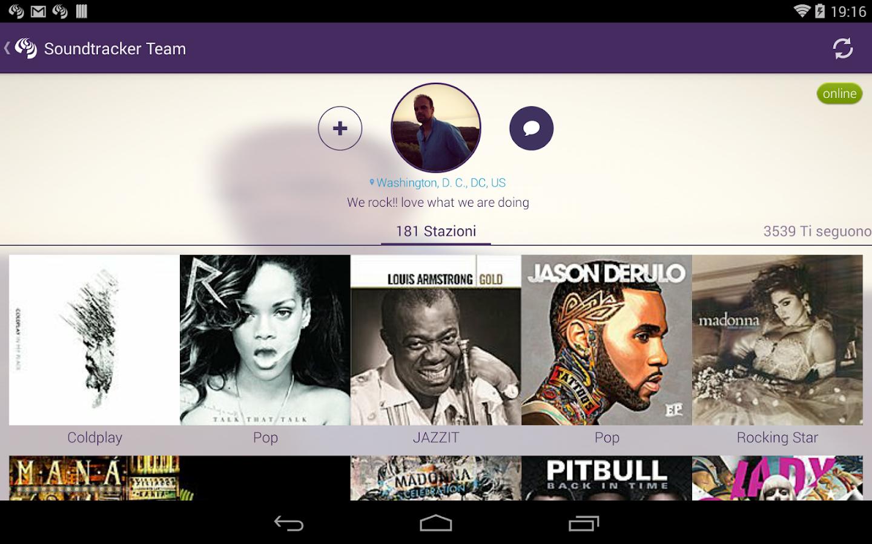 Soundtracker - screenshot