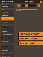 Screenshot of Deutsche Witze XXL