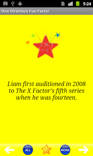 One Direction Fun Facts
