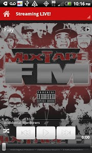 MixTapeFM™  HipHop & RnB Radio screenshot 1