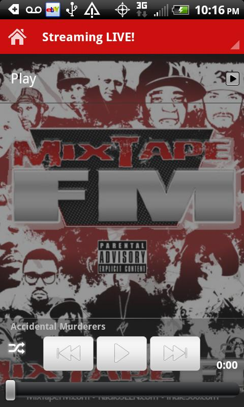 MixTapeFM™  HipHop & RnB Radio - screenshot