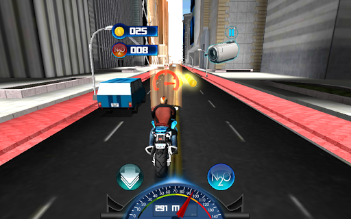 Race Traffic Motorbike 3D