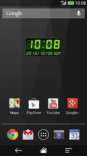 【免費個人化App】LED數字時鐘部件 -Me Clock-APP點子