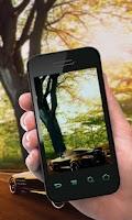 Screenshot of Transparent Screen: Camera app