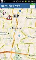 Screenshot of NSW Traffic View