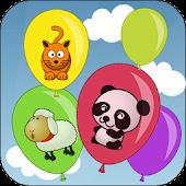 아기 풍선 게임(Touch balloons)