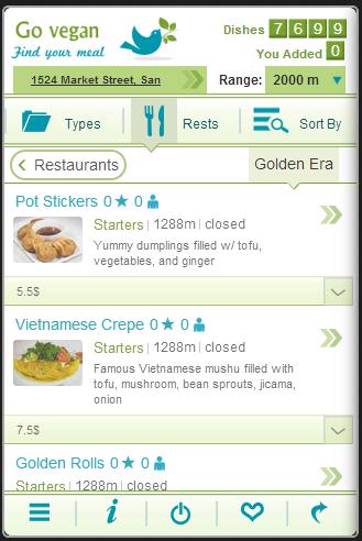 Go vegan - screenshot