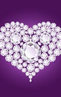 鑽石之心動態壁紙