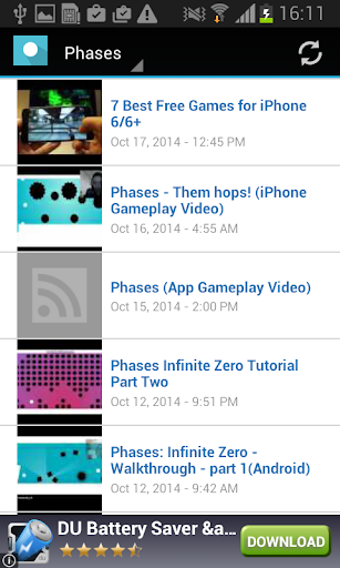 Phases Videos
