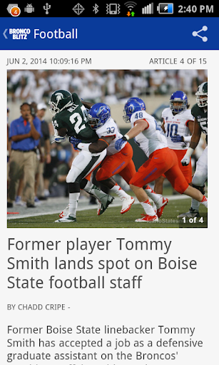 Bronco Blitz - BSU sports news