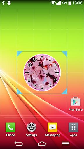 玩個人化App|櫻花 時鐘免費|APP試玩