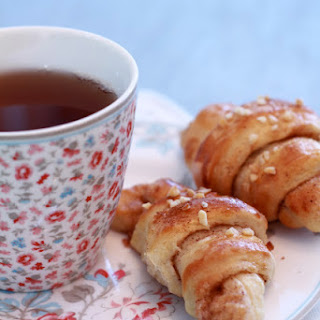 Breakfast Cinnamon Croissants.