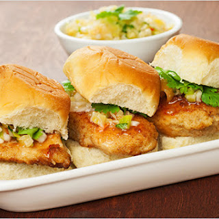 Sweet Thai Chili Chicken Sliders