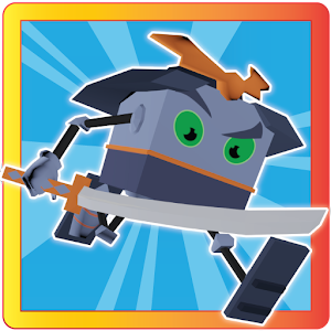 Cube Samurai: RUN LOGO-APP點子