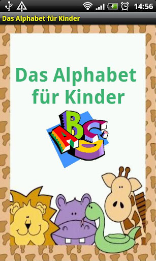Das Alphabet für Kinder