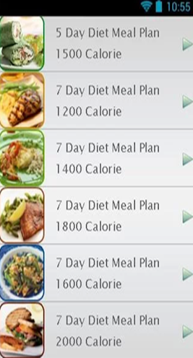 Weight Loss Diet Plan In 7 Day
