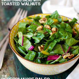Swiss Chard Salad with Toasted Walnuts