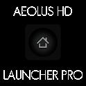 Aeolus HD Dark Launcher Pro logo