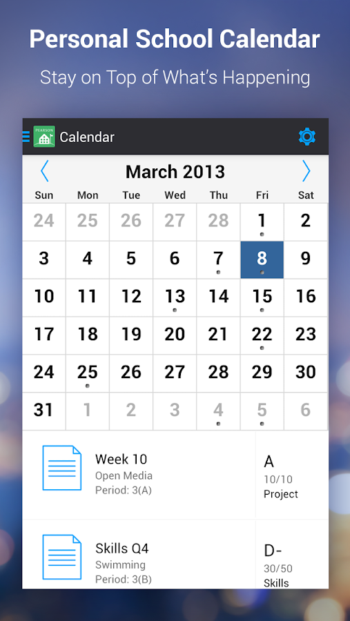 PowerSchool for Students - screenshot