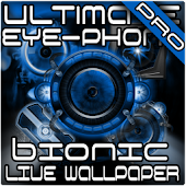 Blue Bionic Live Wallpaper PRO